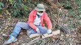 冬の仕事:竹選別